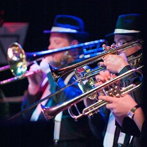 Brass Section Swing Band